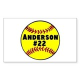 Softball Bumper Stickers