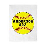Softball Twin Duvet Covers