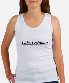 Lake Leelanau, Vintage Women's Tank Top