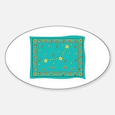 Capricorn Constellation Tapestry Design Decal