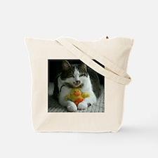 Cats Play Tote Bag