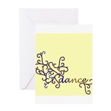 Dance Vines Greeting Card