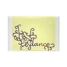 Dance Vines Rectangle Magnet (10 pack)