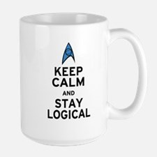 Keep Calm and Stay Logical Mug