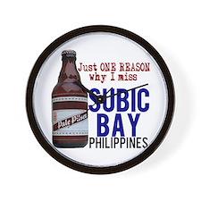 Subic Bay (Beer) Wall Clock