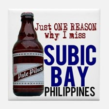 Subic Bay (Beer) Tile Coaster