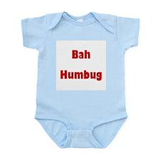 Bah Humbug (red) Infant Creeper