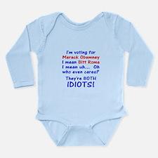Im voting for Long Sleeve Infant Bodysuit