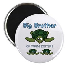 Big Bro Twin Turtle Magnet