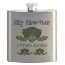 Big Bro Twin Turtle Flask