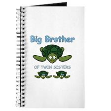 Big Bro Twin Turtle Journal