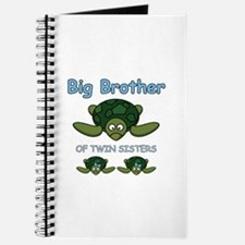 Big Bro Twin Turtle Journal