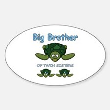 Big Bro Twin Turtle Decal