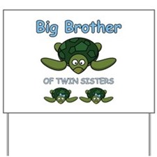 Big Bro Twin Turtle Yard Sign