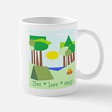 Live * Love * Camp Mug