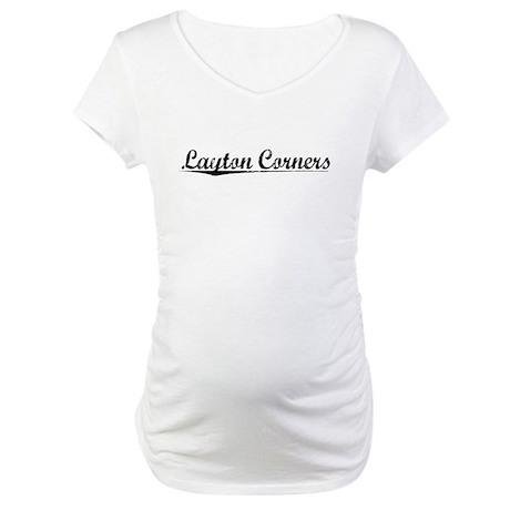 Layton Corners, Vintage Maternity T-Shirt