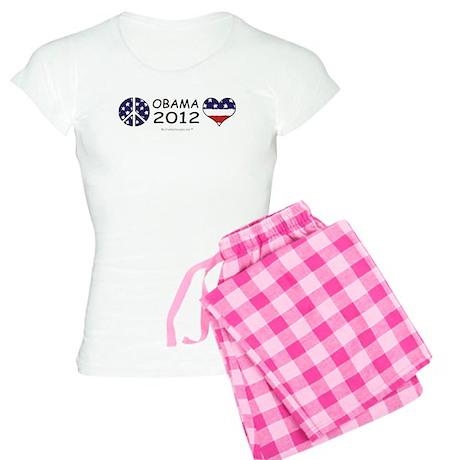 OBAMA 2012 Women's Light Pajamas