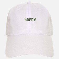 happy Baseball Baseball Cap
