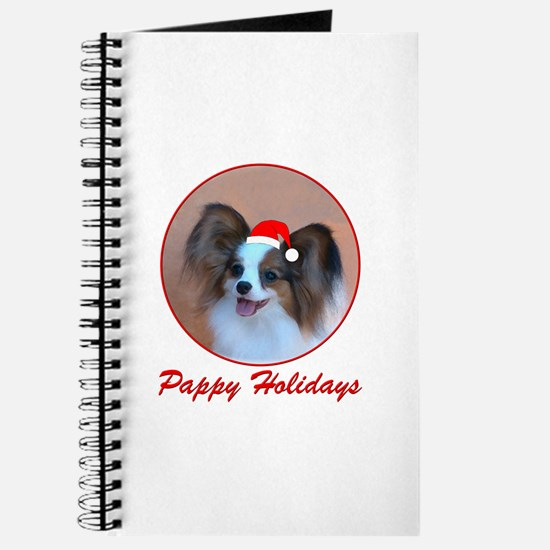 Pappy Holidays (sable santa hat) Journal