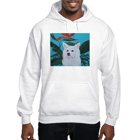 """""""American Eskimo"""" Hooded Sweatshirt"""