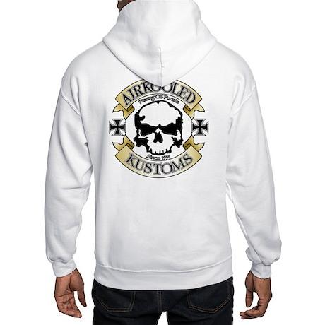 Airkooled Kustoms logo Hooded Sweatshirt