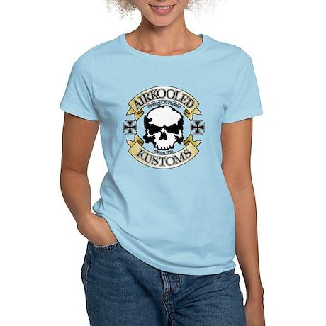 Airkooled Kustoms logo Women's Pink T-Shirt