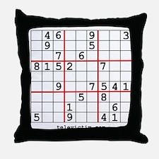 """""""Sudoku shirts"""" Throw Pillow"""