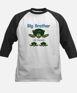 Big Bro Twin Turtle Kids Baseball Jersey