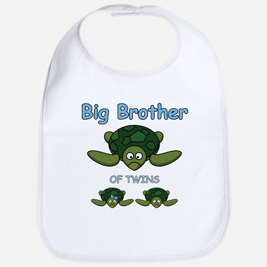 Big Bro Twin Turtle Bib