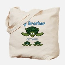 Big Bro Twin Turtle Tote Bag