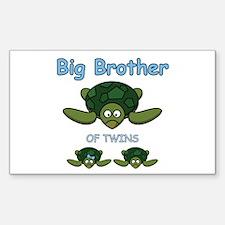 Big Bro Twin Turtle Decal