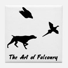 GSP and Falconry Tile Coaster