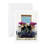 Doorway to Flowers Art Cards