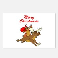 Merry Christmoose Postcards (Package of 8)