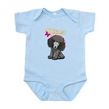 Poodle Girl Infant Bodysuit