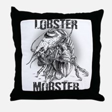 Lobster Mobster Throw Pillow