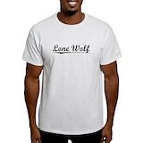 Lone wolf Mens Light T-shirts