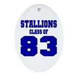 NMHS Class Of 1983 Ornament (Oval)