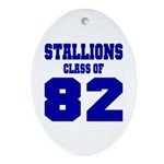 NMHS Class Of 1982 Ornament (Oval)
