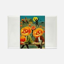 Jack-o-lanterns Rectangle Magnet
