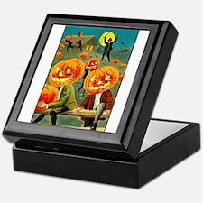 Jack-o-lanterns Keepsake Box