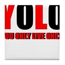 Yolo Tile Coaster
