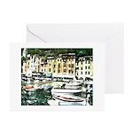 Morning in Portofino Art Cards
