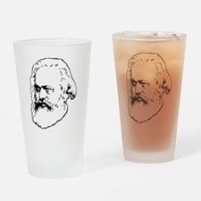 Cute Marxism Drinking Glass
