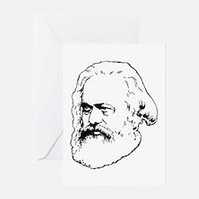 Karl Marx Greeting Cards