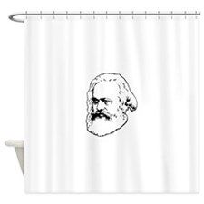 Cute Karl marx Shower Curtain