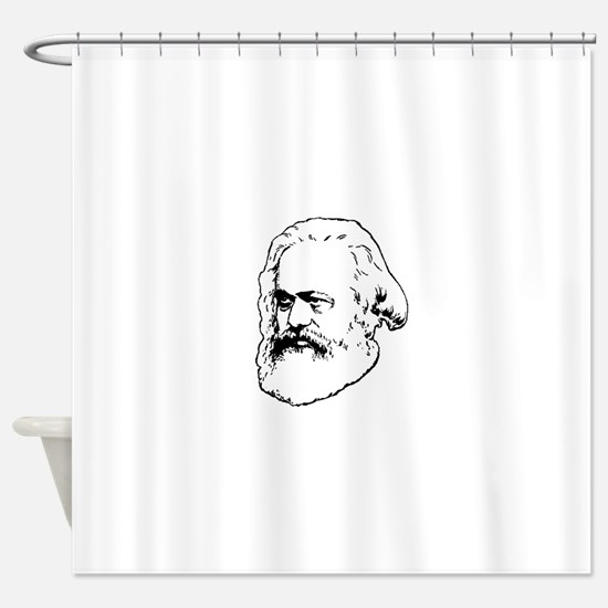 Cute Capitalism Shower Curtain