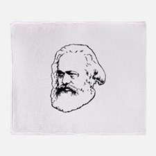 Funny Socialist Throw Blanket