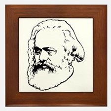 Cute Socialism Framed Tile