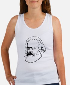 Funny Karl marx Women's Tank Top